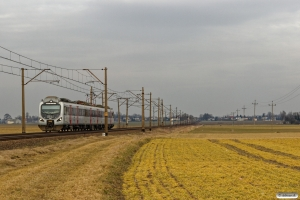 PREG EN57AP-1507 som R 55304. Pruszcz Pomorski - Kotomierz 03.04.2018.