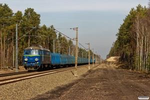 PKPC ET22-718+22 Roos vogne (rør). Prądocin - Nowa Wieś Wielka 04.04.2018.