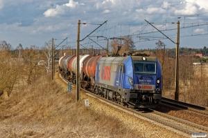 LOTOS E6ACT-008+35 tankvogne. Nowa Wieś Wielka - Złotniki Kujawskie 05.04.2018.