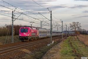 PKPIC 5 370 010 med IC 55. Inowrocław - Jaksice 05.04.2018.