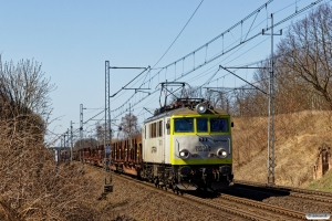 CTPL EU07E-238+28 tomme skinnevogne. Kunowice 06.04.2018.