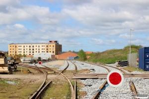 Spor 34, 35 og 37 er fornyet og næsten klar til drift... Odense 10.05.2015.