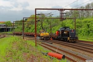 SES 92 80 1293 005-5. Drænarbejde i Km 161,2 Kh (Odense-Holmstrup) 16.05.2015.