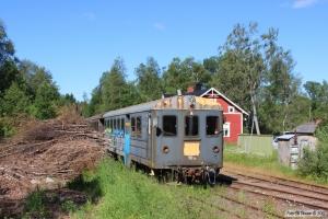 SLJ UBp 103+UBp 104 hensat. Hultanäs 14.06.2014.