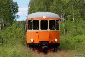 SJ YBo5p 873+YBo5p 884+URYp 1793 med tog Åseda-Triabo. Triabo 14.06.2014.