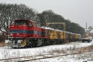 Chemion 08 (D-VL 92 80 1271 017-6) foran SPENO DX 79214+DX 79213+DX 79212+DX 79211. Odense 29.01.2012.