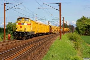 SRM 303005+ballastrensetog. Km 152,0 Kh (Marslev-Odense) 14.05.2016.