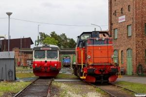 IBAB T44 277, Y1 1348 og T44 273. Östersund 10.06.2015.