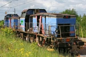 GC T44 333 og T44 332. Eskilstuna 06.06.2012.