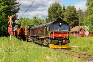 RUSH T66 406 med GT 69203. Dala-Järna - Nås 11.06.2013.