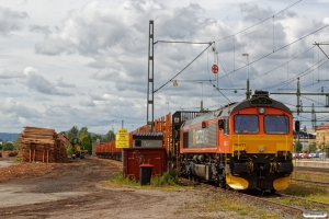 HCTOR T66 713 med GT 46179. Ljusdal 18.06.2018.