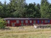 Vognkassen fra DSB 84 86 291 0 985-3. Thylejren 26.06.2020.