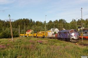 RCT TMX 1021 med TJT 38011. Långsele 20.06.2018.