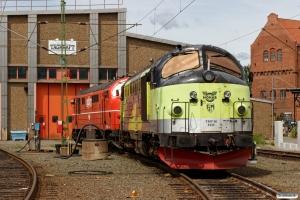 STAB TMY M 1111 og TMX 1012. Nässjö 18.06.2017.