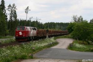 VIDA TMZ 1406 med GT 34287. Hillerstorp - Värnamo 08.06.2012.