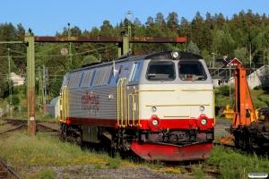 RCT TMZ 1409 under renovering. Långsele 19.06.2018.