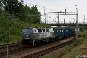 STENA TMZ 1416 med GT 49132. Boxholm 25.08.2009.