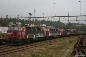 STENA TMZ 1417, TMZ 1414, TMZ 1420 og TMZ 1412. Nässjö 25.08.2011.