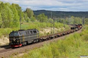 TTT TMZ 1418 med GT 35178. Bensjöbacken 11.06.2015