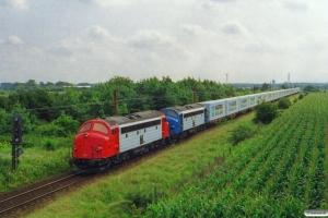 TBL MY 1134+MY 1110 med GF 8647 Te-Ar. Km 34,4 Fa (Lunderskov-Vamdrup) 24.08.2001.