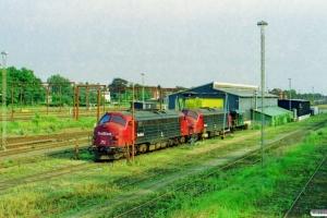 TRX MY 1156+MY 1150. Padborg 01.08.2002.