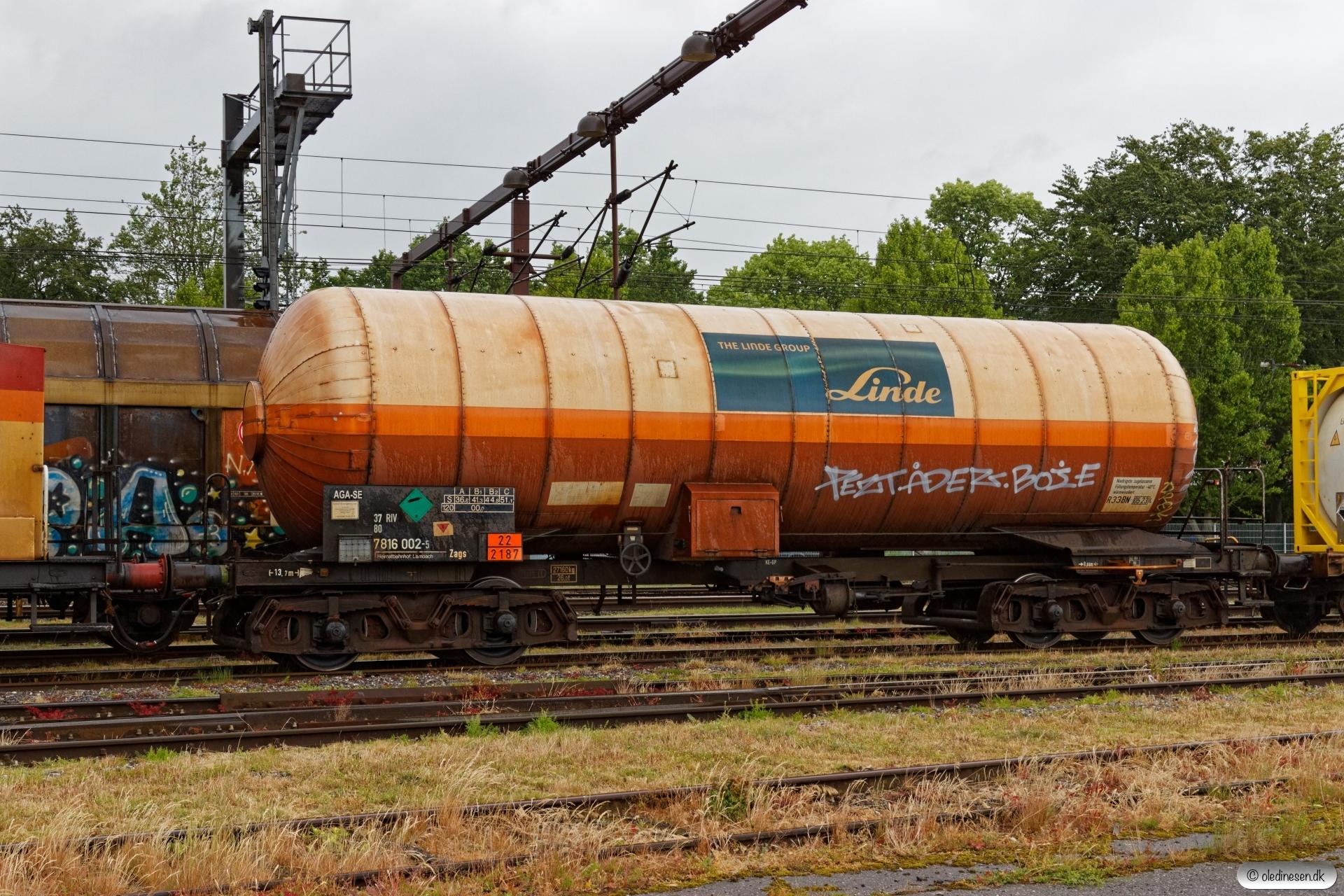 DB Zags 37 80 7816 002-5. Kolding 08.06.2019.