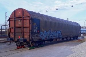 S-AAEC Rilns13 31 74 3546 010-8 på rulleskøjter. Odense 28.03.2020.