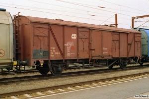 ČD Gbgs 21 54 158 1 948-5. Padborg 25.04.2003.
