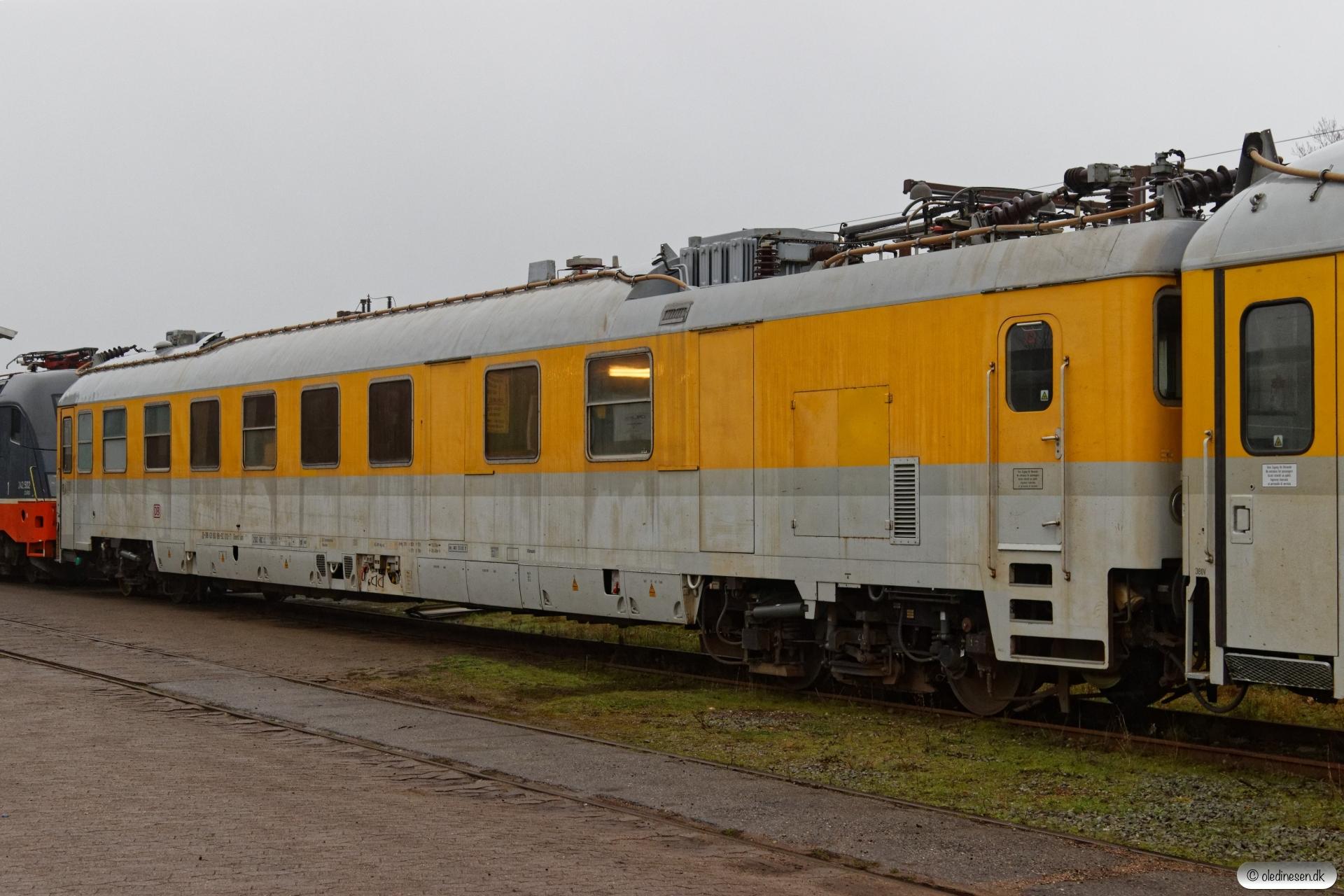 DB Dienst üm313 63 80 99-92 010-7. Padborg 24.11.2018.