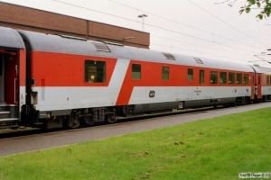 ČD WRmz 73 54 88-91 009-3 i EC 371. Padborg 20.05.2005.