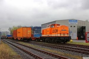 LOCON 203 (ex. DR 110 373). Hamburg-Waltershof 26.04.2013.
