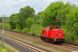 WFL 202 453-7 (ex. DR 110 453). Radbruch - Bardowick 10.05.2014.