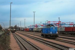 EGP 212 054-1. Hamburg-Waltershof 22.03.2014.