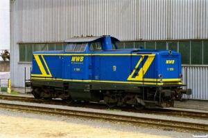 MWB V 1251 (ex. DB 212 247). Lägerdorf 18.06.2006.