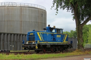 MWB V 662 (Krupp V 60/3978/ex. DB 260 555). Hamburg-Waltershof 08.08.2013.