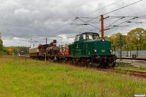 DSB MT 152+VTV Uis+DSB D 857+Buh 704 som VM 222810 Bm-Rg. Sorø 29.09.2018.