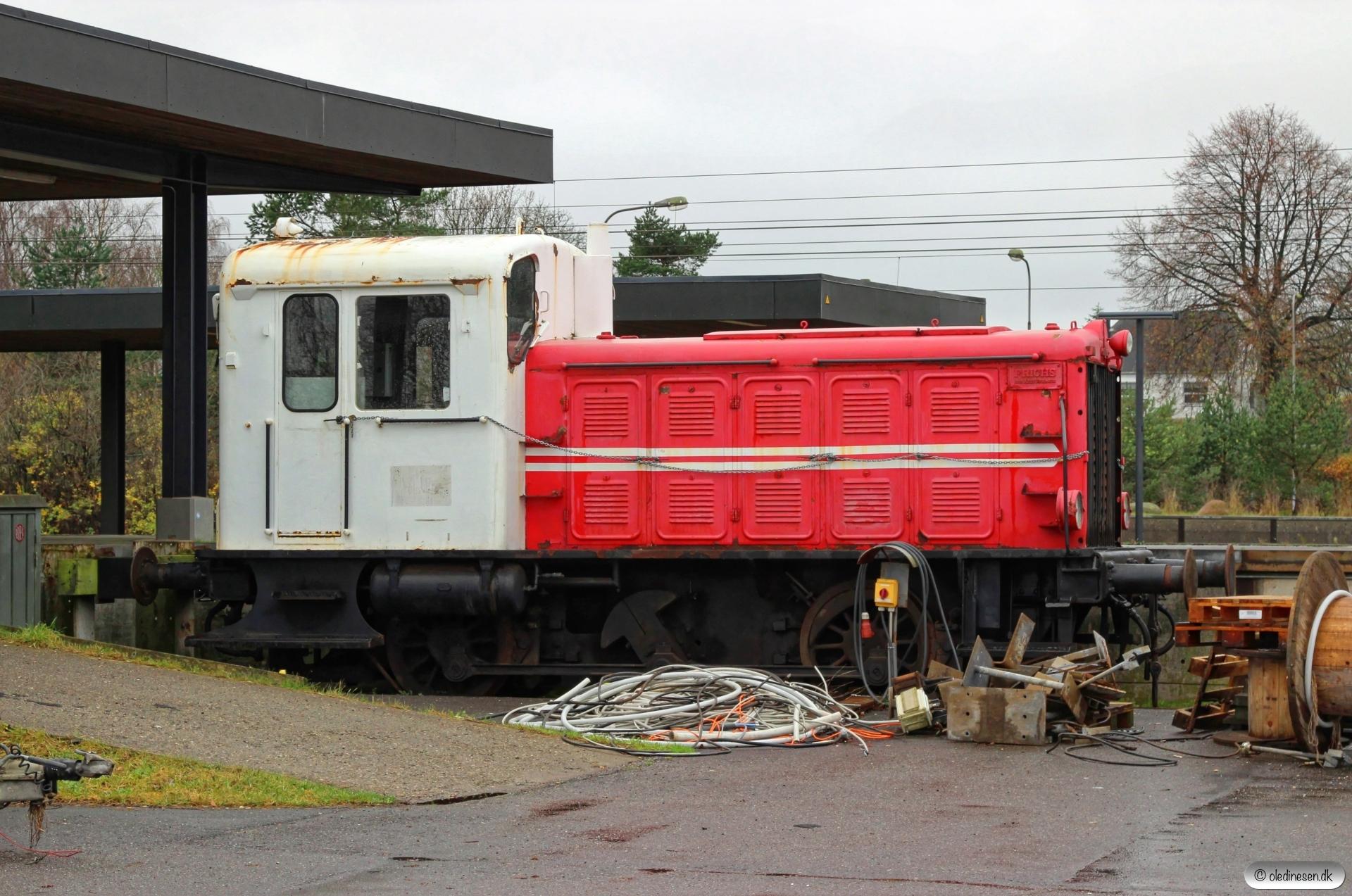DSB/Kommune Kemi Traktor 125. Vojens 15.11.2015.