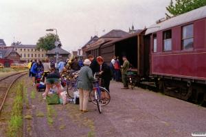 Cykeludlæsning if. med Tåsinge rundt. Svendborg 06.08.2000.
