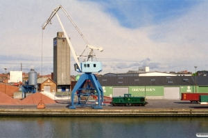 DSB MT 152. Odense havn 03.08.2002.