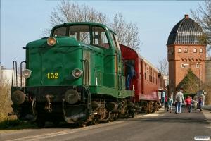 DSB MT 152+CLE 1672+BHL 401. Nyborg 09.04.2009.