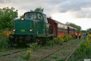 DSB MT 152+BHL 401+AU 253+CLE 1672. Grindsted 31.05.2012.