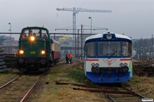 DSB MT 152 og SB Ym 5. Ålborg 17.02.2019.