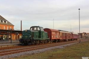 DSB MT 152+Hims 21 86 211 4 204-9+MO 1848+CLE 1672 som VM 228302 Sg-Ho. Holstebro 08.03.2014.