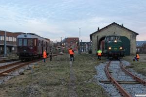 DSB MO 1848 og MT 152. Holstebro 08.03.2014.