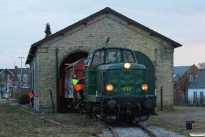 DSB MT 152. Holstebro 08.03.2014.
