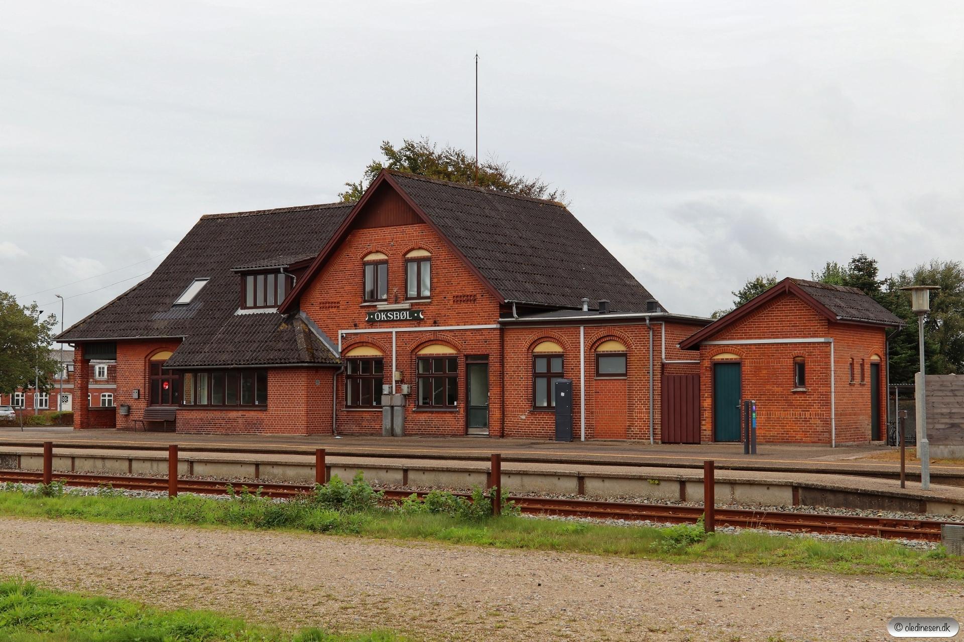 Oksbøl station 13.09.2020.