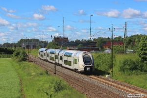 SJ X40 3334 som RST 168. Falköping 12.06.2014.