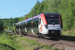 X54 9006 som RST 7524. Repbäcken - Djurås 11.06.2013.