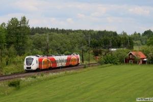 X61 302 som RST 8734. Linghem - Gistad 07.06.2012.
