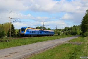 Norrtåg X62 002 som RST 7508. Sundsvall Västra - Töva 08.06.2015.